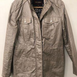 Johnston & Murphy COATED-LINEN ANORAK Jacket
